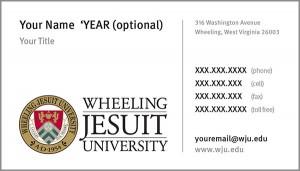 WJU Business Card Academic